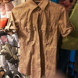 New York and company button up size extra small